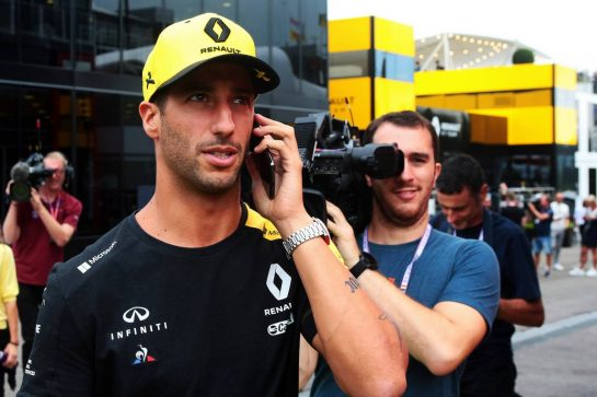 Daniel Ricciardo (AUS) Renault F1 Team. 29.08.2019. Formula 1 World Championship, Rd 13, Belgian Grand Prix, Spa Francorchamps, Belgium, Preparation Day. - www.xpbimages.com, EMail: requests@xpbimages.com - copy of publication required for printed pictures. Every used picture is fee-liable. © Copyright: Photo4 / XPB Images
