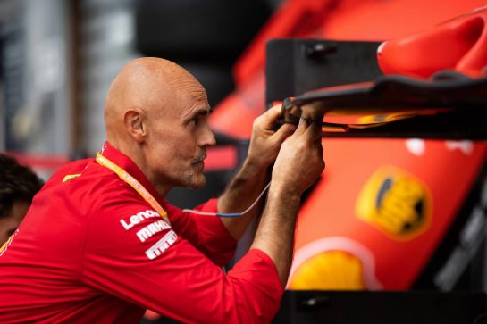 Ferrari mechanic.
