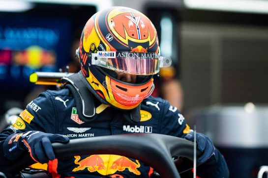 Alexander Albon (THA) Red Bull Racing RB15. 29.08.2019. Formula 1 World Championship, Rd 13, Belgian Grand Prix, Spa Francorchamps, Belgium, Preparation Day. - www.xpbimages.com, EMail: requests@xpbimages.com - copy of publication required for printed pictures. Every used picture is fee-liable. © Copyright: Price / XPB Images
