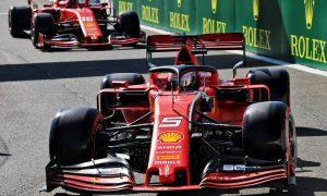 Ferrari dominates FP1 at Spa as Vettel edges Leclerc