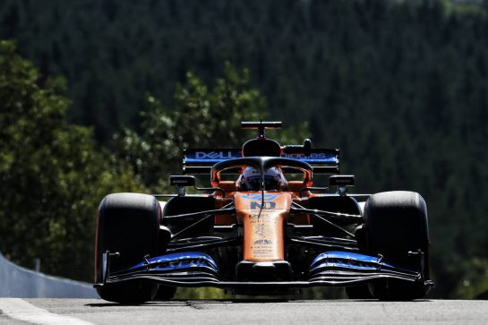 Carlos Sainz Jr (ESP) McLaren MCL34.