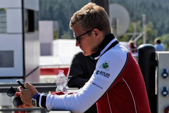 Marcus Ericsson (SWE) Alfa Romeo Racing Third Driver. 30.08.2019. Formula 1 World Championship, Rd 13, Belgian Grand Prix, Spa Francorchamps, Belgium, Practice Day. - www.xpbimages.com, EMail: requests@xpbimages.com - copy of publication required for printed pictures. Every used picture is fee-liable. © Copyright: Photo4 / XPB Images