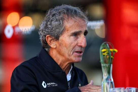 Alain Prost (FRA) Renault F1 Team Special Advisor.