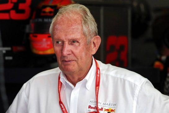 Dr Helmut Marko (AUT) Red Bull Motorsport Consultant.