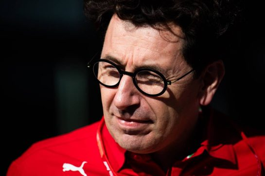 Mattia Binotto (ITA) Ferrari Team Principal. 31.08.2019. Formula 1 World Championship, Rd 13, Belgian Grand Prix, Spa Francorchamps, Belgium, Qualifying Day. - www.xpbimages.com, EMail: requests@xpbimages.com - copy of publication required for printed pictures. Every used picture is fee-liable. © Copyright: Price / XPB Images