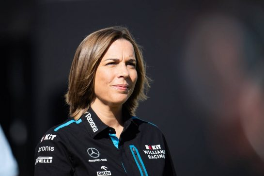 Claire Williams (GBR) Williams Racing Deputy Team Principal. 31.08.2019. Formula 1 World Championship, Rd 13, Belgian Grand Prix, Spa Francorchamps, Belgium, Qualifying Day. - www.xpbimages.com, EMail: requests@xpbimages.com - copy of publication required for printed pictures. Every used picture is fee-liable. © Copyright: Price / XPB Images