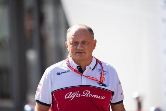 Frederic Vasseur (FRA) Alfa Romeo Racing Team Principal. 31.08.2019. Formula 1 World Championship, Rd 13, Belgian Grand Prix, Spa Francorchamps, Belgium, Qualifying Day. - www.xpbimages.com, EMail: requests@xpbimages.com - copy of publication required for printed pictures. Every used picture is fee-liable. © Copyright: Price / XPB Images