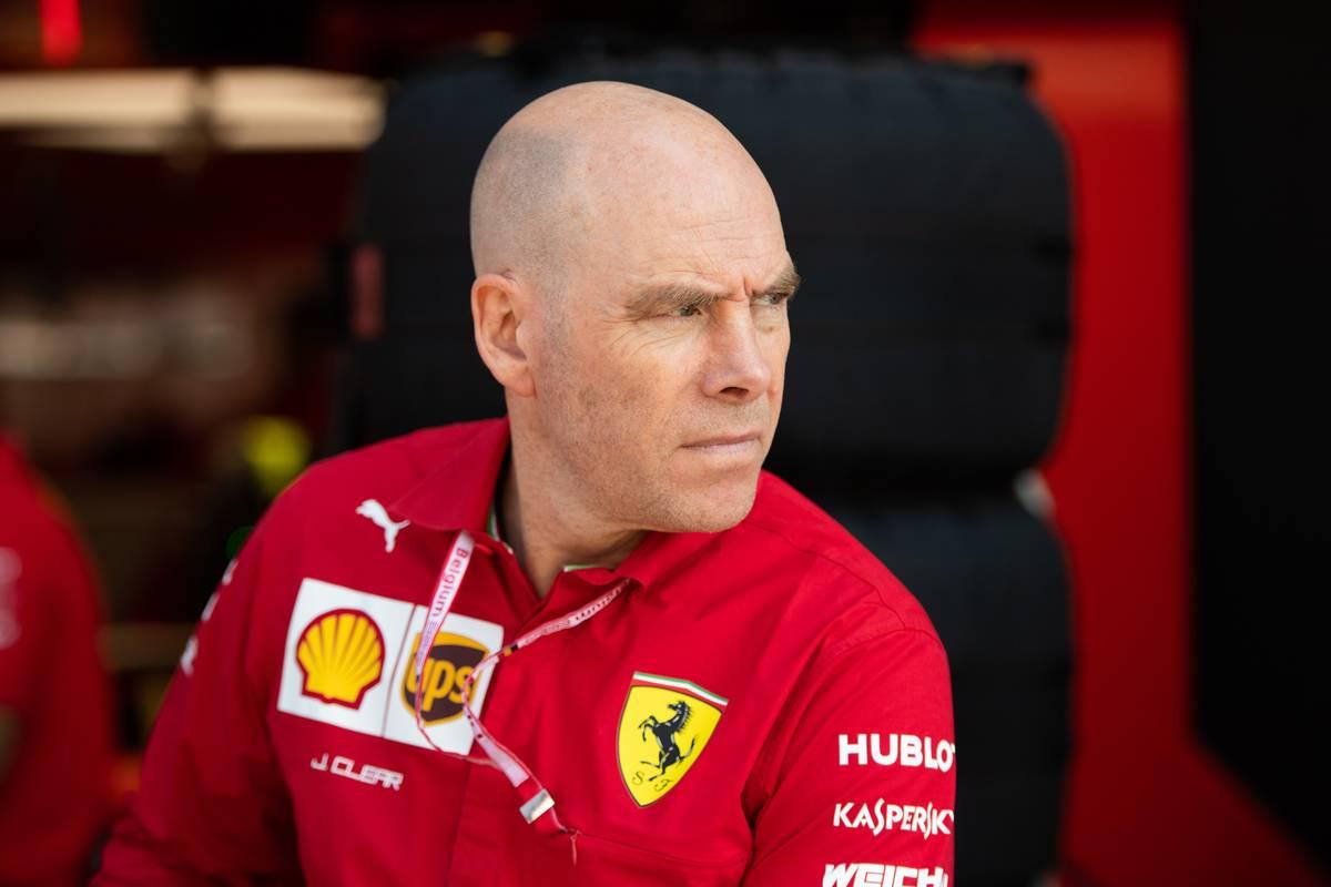 ock Clear (GBR) Ferrari Engineering Director. 31.08.2019. Formula 1 World Championship, Rd 13, Belgian Grand Prix, Spa