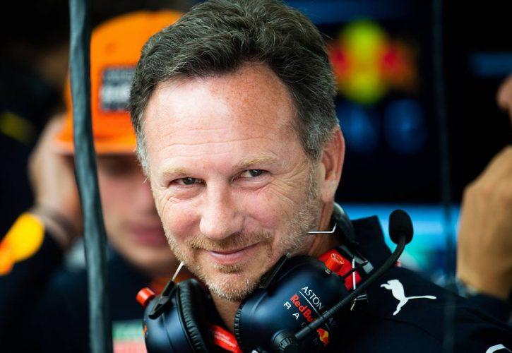 Christian Horner (GBR) Red Bull Racing Team Principal.