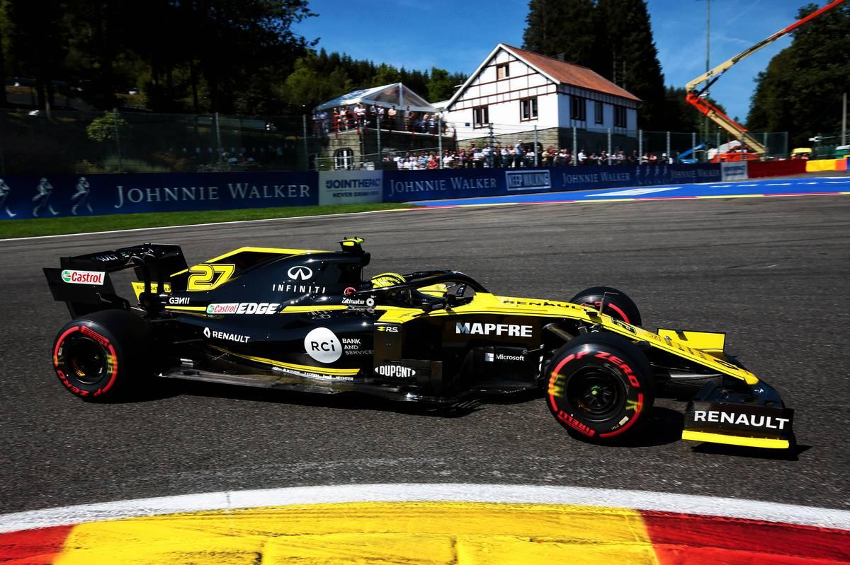 Nico Hulkenberg (GER) Renault F1 Team RS19. 31.08.2019.
