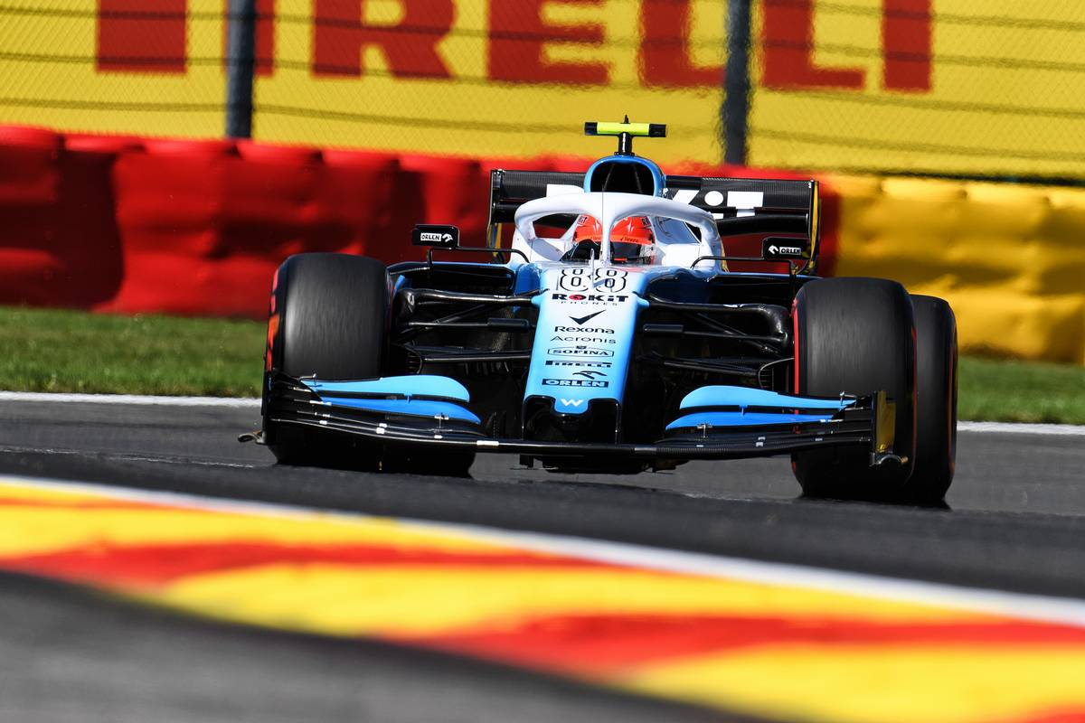 Robert Kubica (POL) Williams Racing FW42.