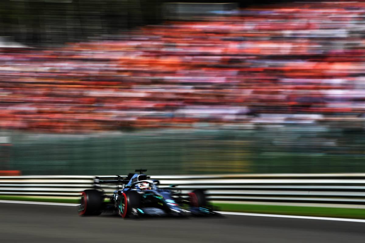 Lewis Hamilton (GBR) Mercedes AMG F1 W10. 31.08.2019.
