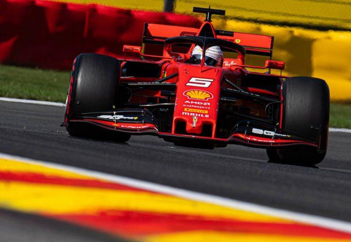 Sebastian Vettel (GER) Ferrari SF90. 31.08.2019.