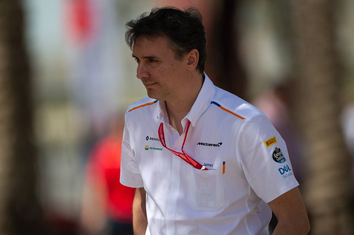 James Key (GBR) McLaren Technical Director.