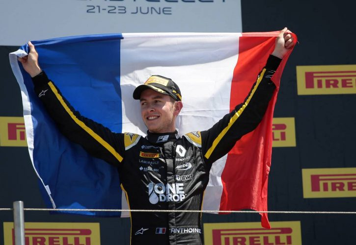 Race 2, Anthoine Hubert (FRA) BWT Arden race winner - Paul Ricard (23 June 2019)