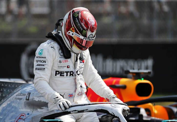 Lewis Hamilton claims victory at the Hungarian Grand Prix