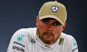 Valtteri Bottas (FIN) Mercedes AMG F1 in the post qualifying FIA Press Conference.