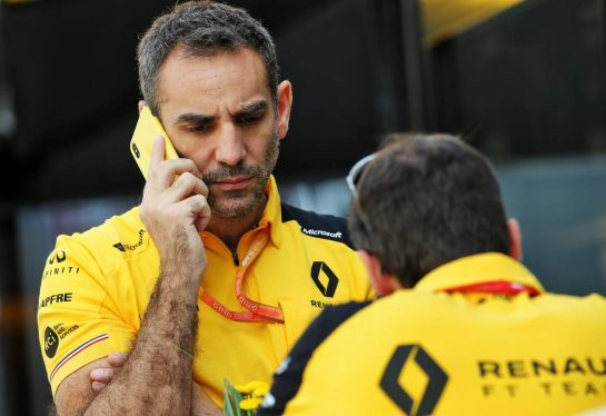 Cyril Abiteboul (FRA) Renault Sport F1 Managing Director. 02.08.2019. Formula 1 World Championship, Rd 12, Hungarian Grand Prix, Budapest, Hungary, Practice Day. - www.xpbimages.com, EMail: requests@xpbimages.com - copy of publication required for printed pictures. Every used picture is fee-liable. © Copyright: Batchelor / XPB Images