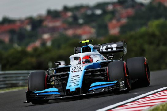 Robert Kubica (POL) Williams Racing FW42. 02.08.2019. Formula 1 World Championship, Rd 12, Hungarian Grand Prix, Budapest, Hungary, Practice Day. - www.xpbimages.com, EMail: requests@xpbimages.com - copy of publication required for printed pictures. Every used picture is fee-liable. © Copyright: Moy / XPB Images