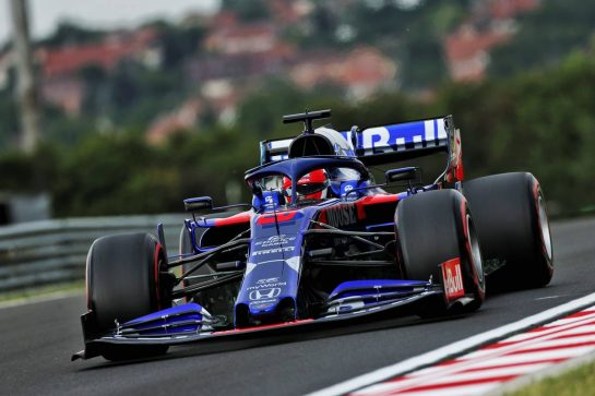 Daniil Kvyat (RUS) Scuderia Toro Rosso STR14. 02.08.2019. Formula 1 World Championship, Rd 12, Hungarian Grand Prix, Budapest, Hungary, Practice Day. - www.xpbimages.com, EMail: requests@xpbimages.com - copy of publication required for printed pictures. Every used picture is fee-liable. © Copyright: Moy / XPB Images