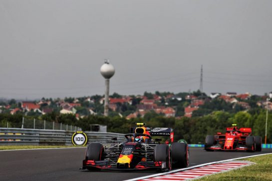 Pierre Gasly (FRA) Red Bull Racing RB15. 02.08.2019. Formula 1 World Championship, Rd 12, Hungarian Grand Prix, Budapest, Hungary, Practice Day. - www.xpbimages.com, EMail: requests@xpbimages.com - copy of publication required for printed pictures. Every used picture is fee-liable. © Copyright: Moy / XPB Images