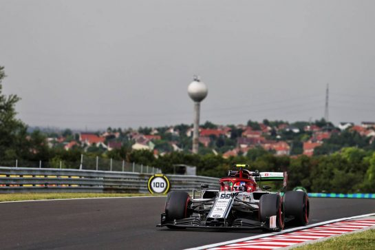 Antonio Giovinazzi (ITA) Alfa Romeo Racing C38. 02.08.2019. Formula 1 World Championship, Rd 12, Hungarian Grand Prix, Budapest, Hungary, Practice Day. - www.xpbimages.com, EMail: requests@xpbimages.com - copy of publication required for printed pictures. Every used picture is fee-liable. © Copyright: Moy / XPB Images
