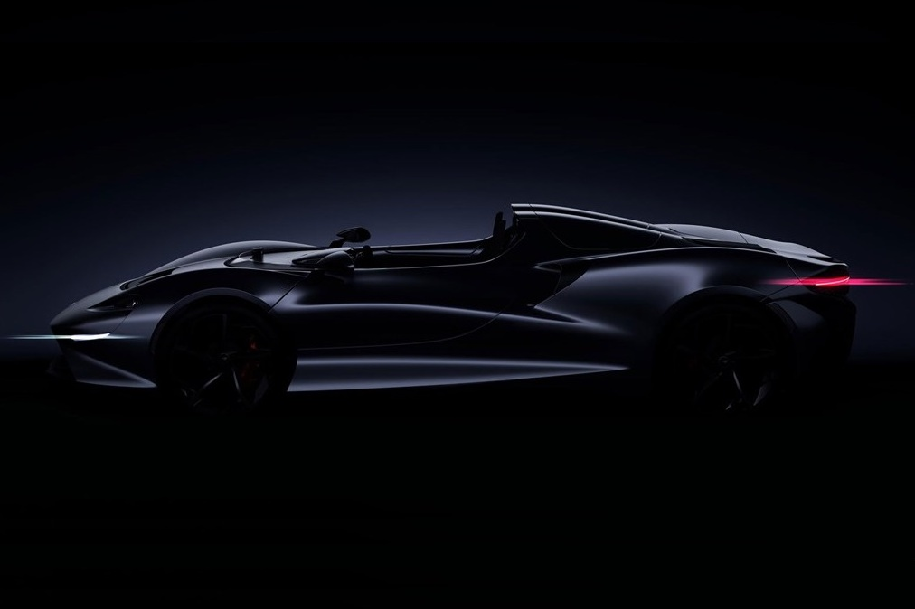 McLaren unveils unexpected new roadster at Pebble Beach
