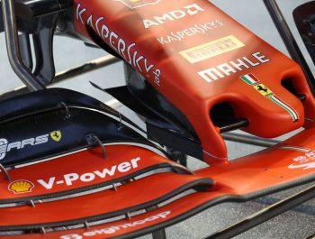 Ferrari adds cape element to SF90 nose design for Singapore