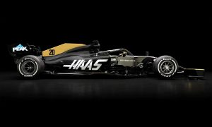 Haas retains black and gold livery after sponsor split