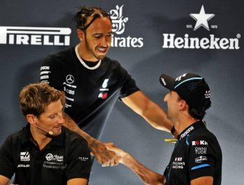 Hamilton full of admiration for 'remarkable' Kubica