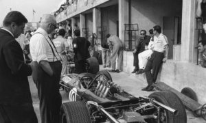 The Commendatore's Friday visits to Monza