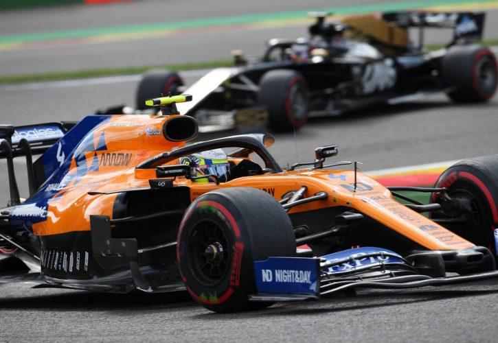 Lando Norris left frustrated by final-lap failure at Belgian GP