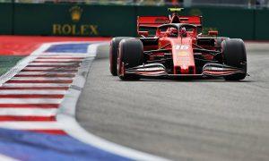 Leclerc leads Verstappen in first free practice in Sochi