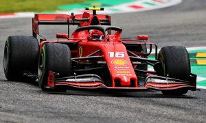 Ferrari's Leclerc leads tricky and damp FP1 at Monza