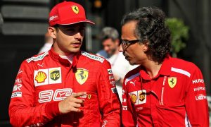 Ferrari's Mekies: Leclerc 'exploding in every department'