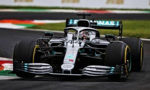 Hamilton: Small gap to Ferrari 'definitely surprising'