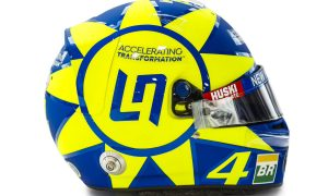 Norris pays tribute to 'The Doctor' with Monza lid