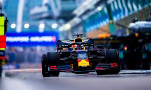 Verstappen sees 'more to come' after positive opening day
