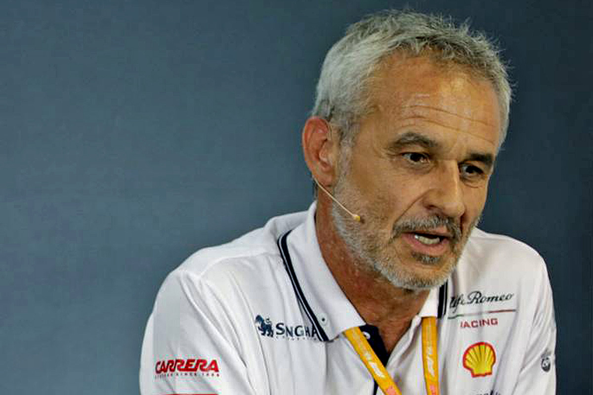 Beat Zehnder (SUI) Alfa Romeo Racing Manager in the FIA Press Conference.