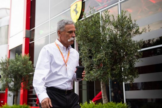 Chase Carey (USA) Formula One Group Chairman.