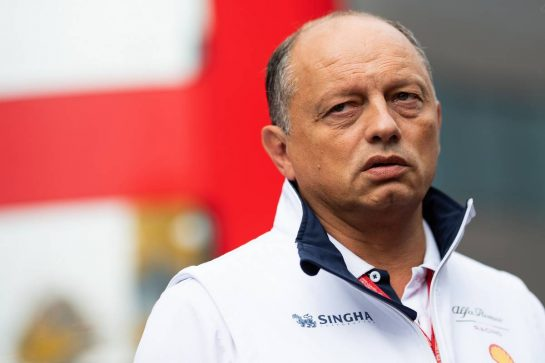 Frederic Vasseur (FRA) Alfa Romeo Racing Team Principal.