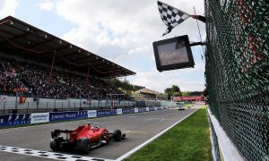 Leclerc dedicates 'difficult' maiden F1 win to Hubert