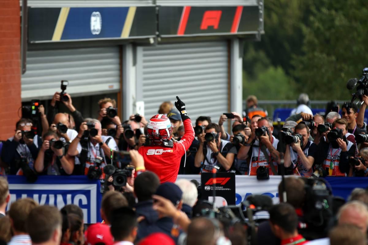 1st place Charles Leclerc (MON) Ferrari SF90.