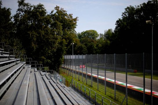 Track Atmosphere 05.09.2019. Formula 1 World Championship, Rd 14, Italian Grand Prix, Monza, Italy, Preparation Day.- www.xpbimages.com, EMail: requests@xpbimages.com - copy of publication required for printed pictures. Every used picture is fee-liable. © Copyright: Charniaux / XPB Images