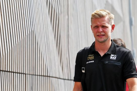 Kevin Magnussen (DEN) Haas F1 Team. 05.09.2019. Formula 1 World Championship, Rd 14, Italian Grand Prix, Monza, Italy, Preparation Day. - www.xpbimages.com, EMail: requests@xpbimages.com - copy of publication required for printed pictures. Every used picture is fee-liable. © Copyright: Moy / XPB Images