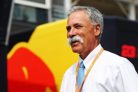 Chase Carey (USA) Formula One Group Chairman. 05.09.2019. Formula 1 World Championship, Rd 14, Italian Grand Prix, Monza, Italy, Preparation Day. - www.xpbimages.com, EMail: requests@xpbimages.com - copy of publication required for printed pictures. Every used picture is fee-liable. © Copyright: Moy / XPB Images