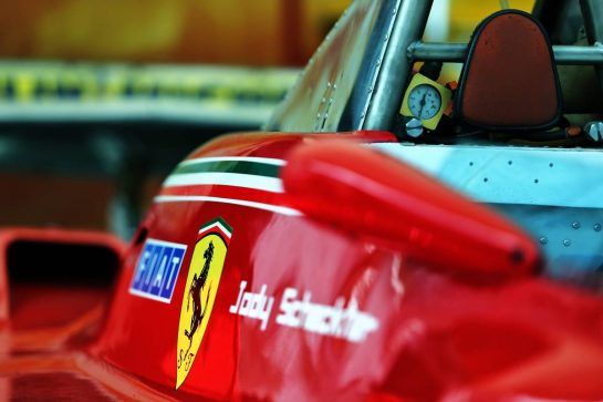1979 Ferrari 312T4 of Jody Scheckter (RSA). 05.09.2019. Formula 1 World Championship, Rd 14, Italian Grand Prix, Monza, Italy, Preparation Day. - www.xpbimages.com, EMail: requests@xpbimages.com - copy of publication required for printed pictures. Every used picture is fee-liable. © Copyright: Moy / XPB Images