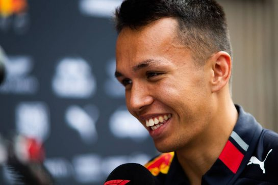 Alexander Albon (THA) Red Bull Racing. 05.09.2019. Formula 1 World Championship, Rd 14, Italian Grand Prix, Monza, Italy, Preparation Day.  - www.xpbimages.com, EMail: requests@xpbimages.com - copy of publication required for printed pictures. Every used picture is fee-liable. © Copyright: Filipe / XPB Images