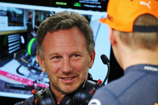 Christian Horner (GBR) Red Bull Racing Team Principal.
