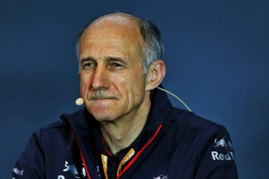 Franz Tost (AUT) Scuderia Toro Rosso Team Principal in the FIA Press Conference.